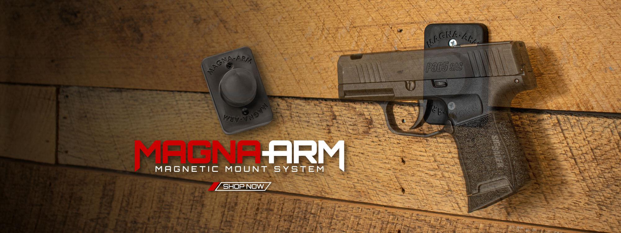 Magna-Arm Magnetic Mount System – Gun Magnet – Gun Mount