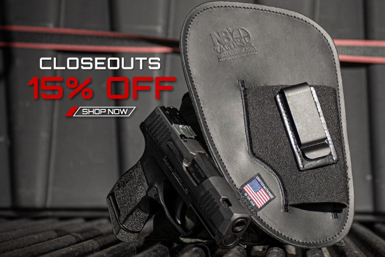 Closeouts 15% Off