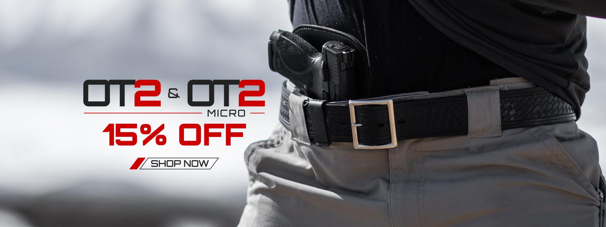 OT2 & OT2 Micro 15% Off