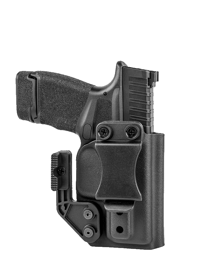 KO-1 IWB All Kydex Holster - Upgraded With Mod Wing And Quick Clip Accessories