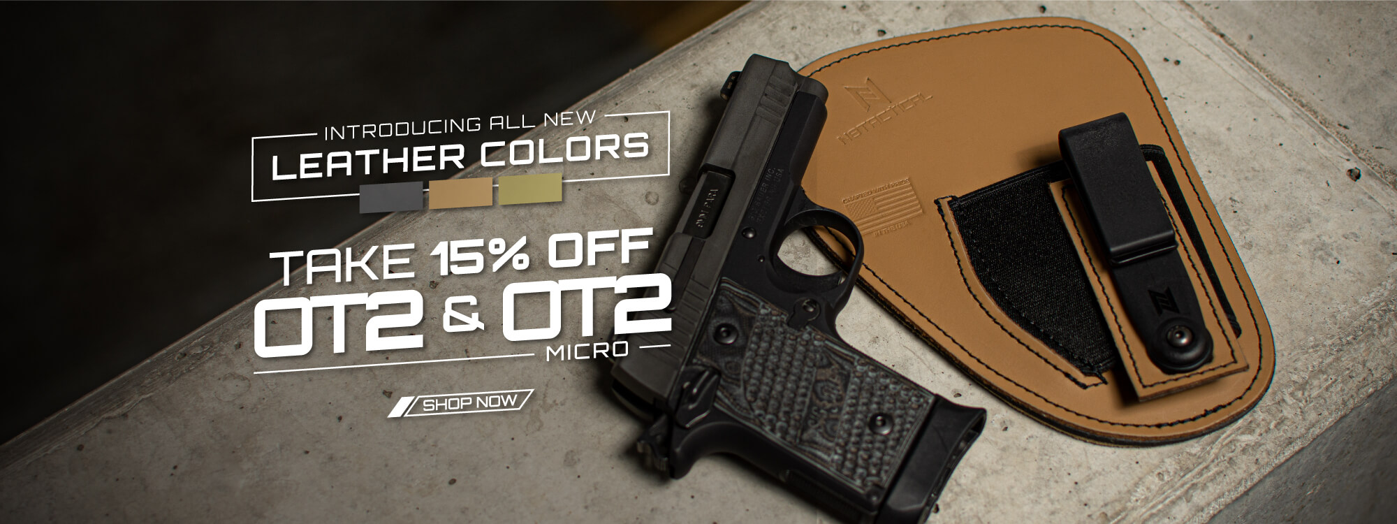 Take 15% Off OT2 & OT2 Micro with All New Colors