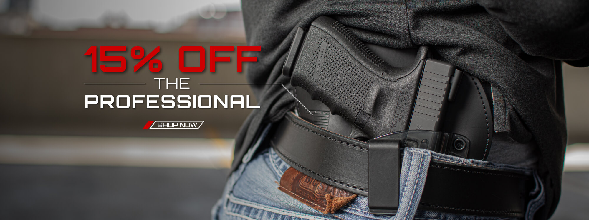 15% Off The Professional Holster