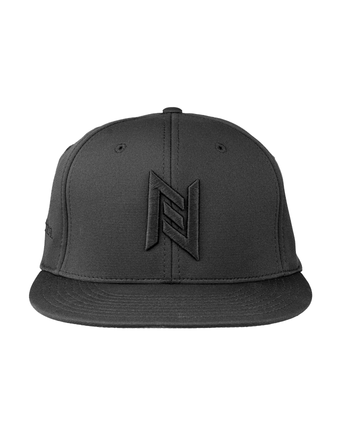 N8 Tactical Fitted Pitch Black Hat Front