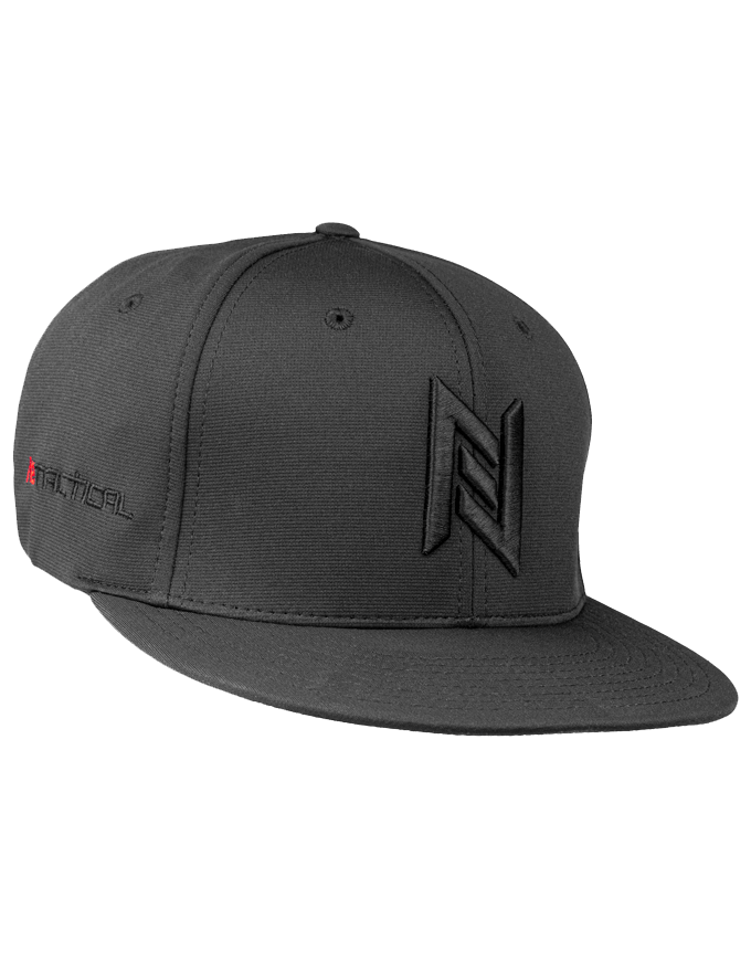 N8 Tactical Fitted Pitch Black Hat Side