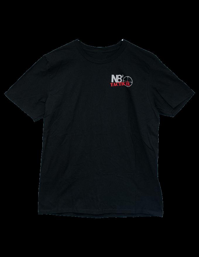 N82 Black Front Logo Tee
